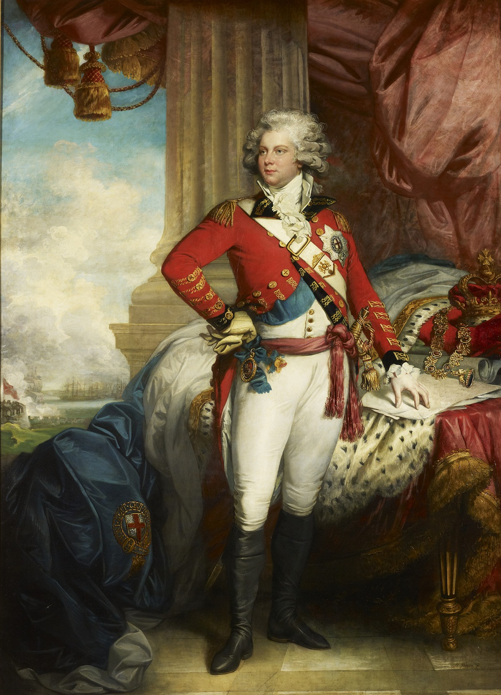 George, Prince of Wales (1762-1830), later George IV  1789