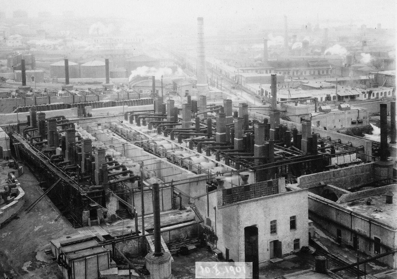 Нефтяной завод компании Нобель в Баку