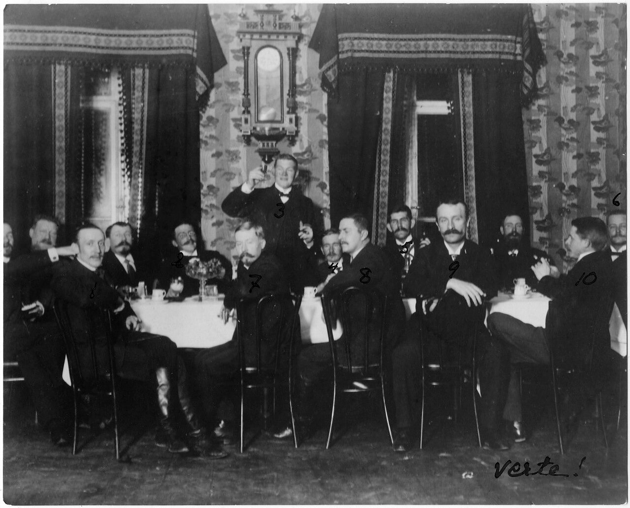Проводы инженера Нильса Фернстрома. 1904
