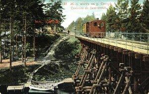Железнодорожный мост на р. Сестре