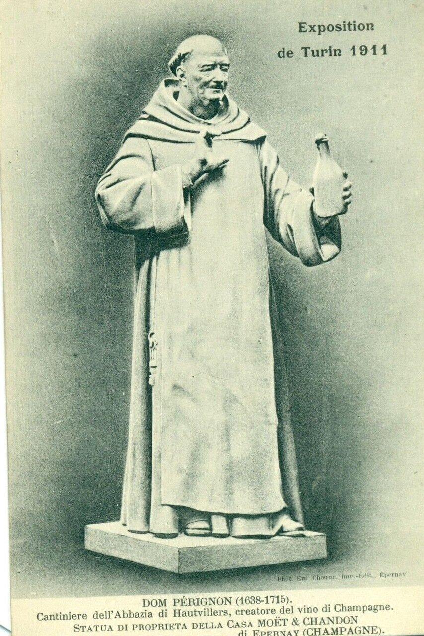 Дон Периньон, символ компании «Моет Шандон»