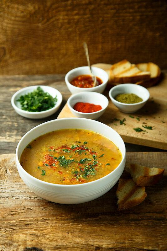 Гороховый суп карри + новости.