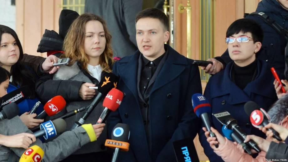 Представление ГПУ относительно Савченко регламентный комитет Рады рассмотрит 22 марта