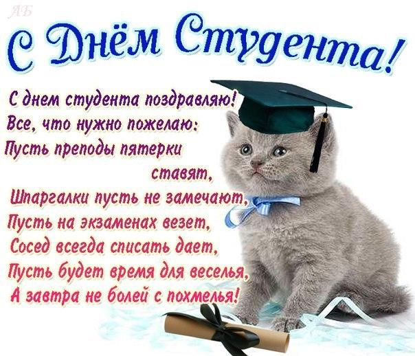 17 ноября. Международный день студента. Стихи