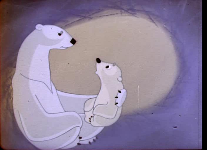 27 февраля Международный день белого медведя. Кадр из мультфильма