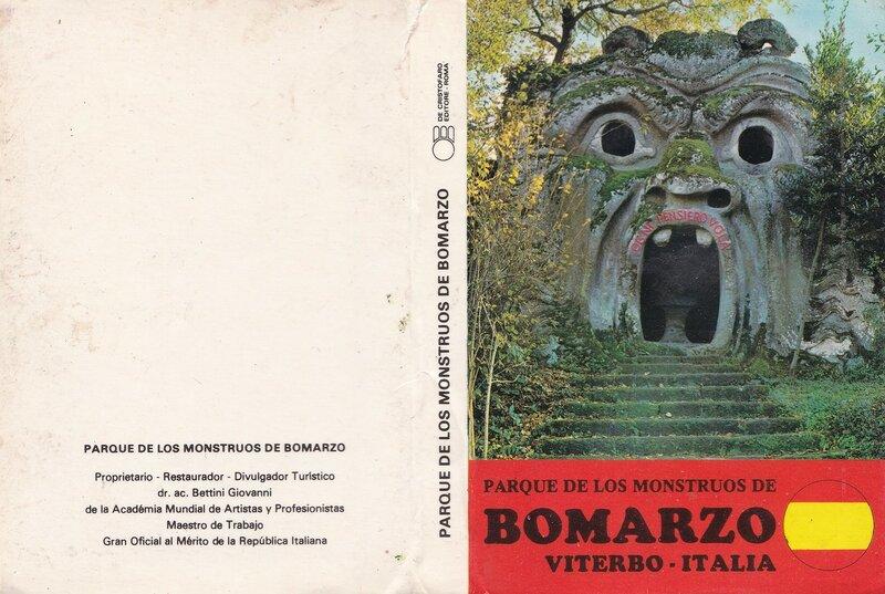 Parque De Los Monstruous De Bomarzo. Viterbo - Italia