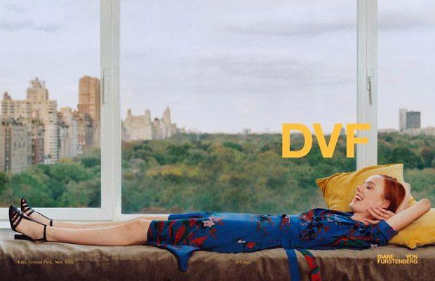 Imaan Hammam & Kiki Willems Model Diane Von Furstenberg SS18 Collection