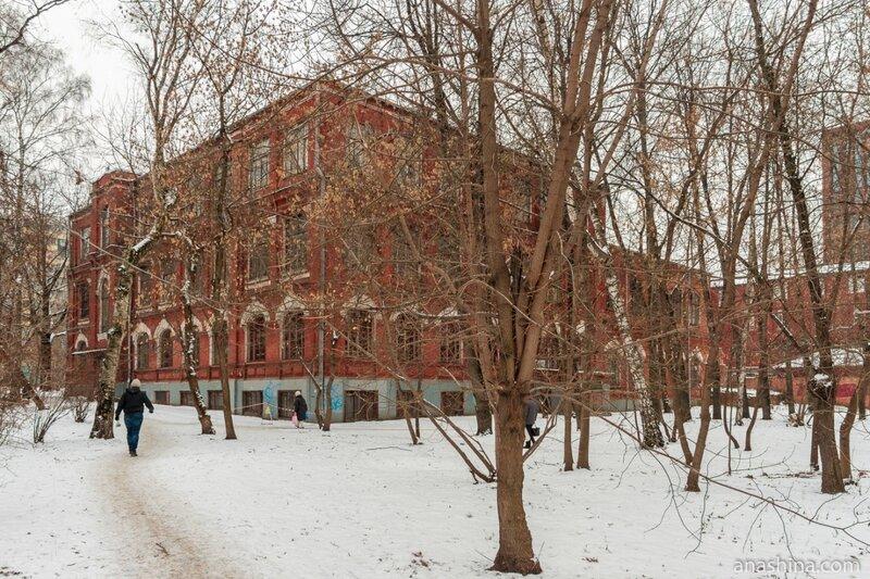 """Здание издательства """"Мир"""" бывшего Бахрушинского приюта"""