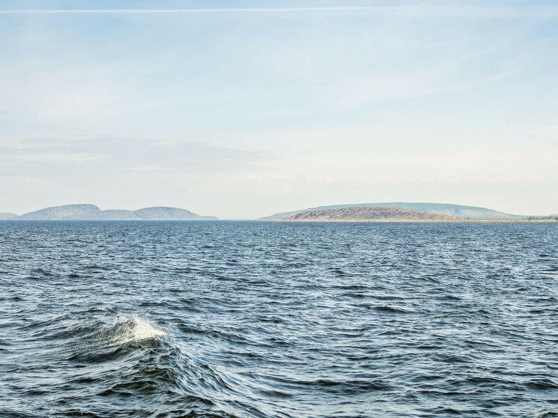 С приближением к Кеми вокруг вырисовывается много мелких островков.