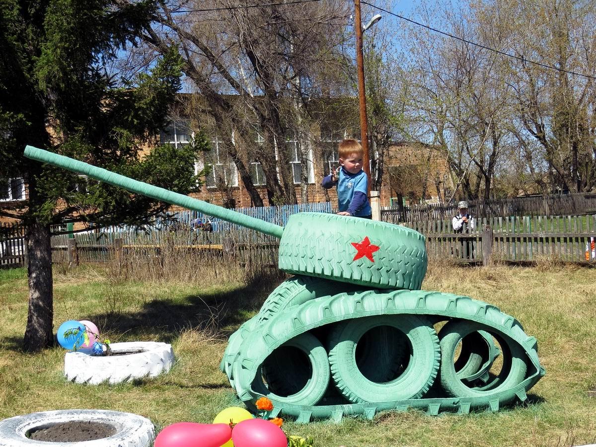 А когда я подрасту, то пойду в танкисты