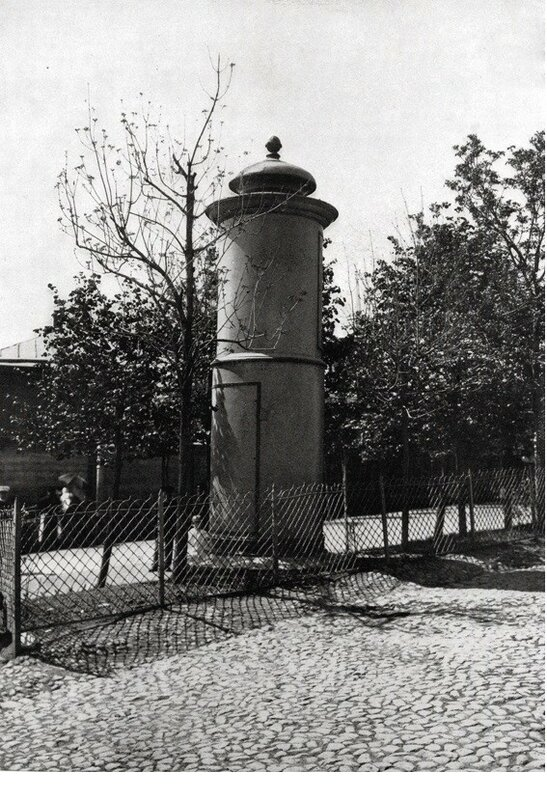 Старые трансформаторные будки
