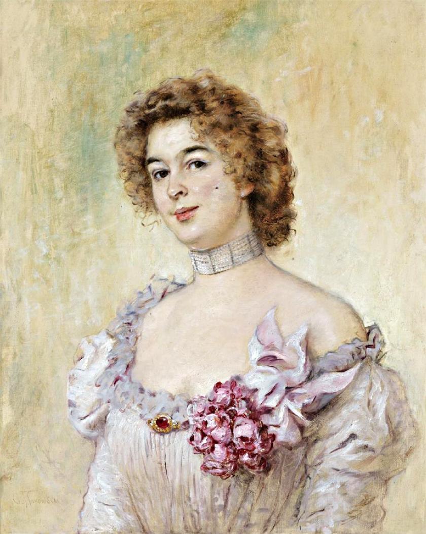 Portrait of Olga Cheremetieff, future Princess Demidoff.