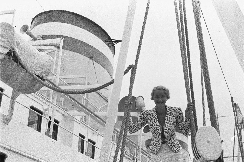 Пассажирка на верхней палубе