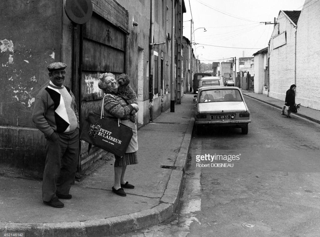 1987. Улица Кристино Гарсия в Сен-Дени