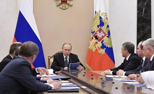 Путин обсудил с постоянными членами Совбеза ситуацию в Сирии и на Украине
