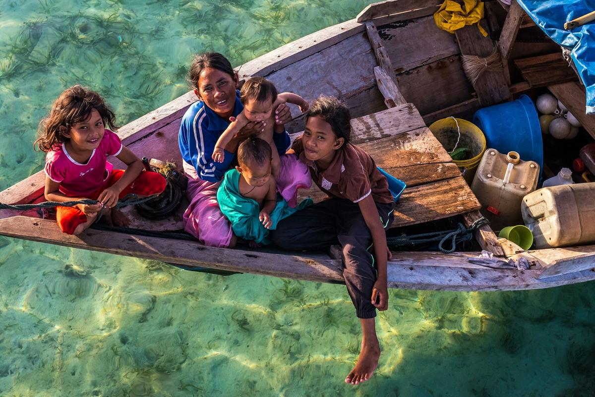 Удивительные снимки «морских цыган» баджо