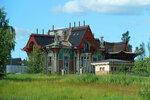 Дом в восточном стиле.