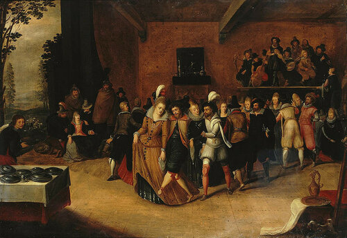 Hieronymus Francken the Younger - Ball