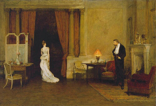 William Quiller Orchardson - The First Cloud
