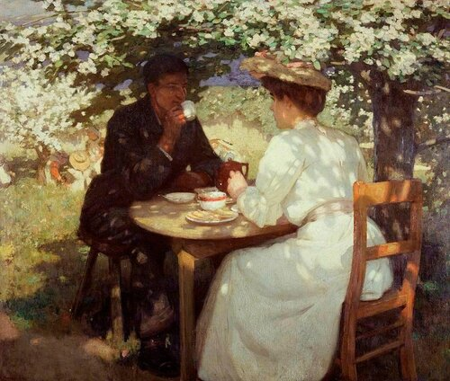 Harold Knight - In the Spring Time