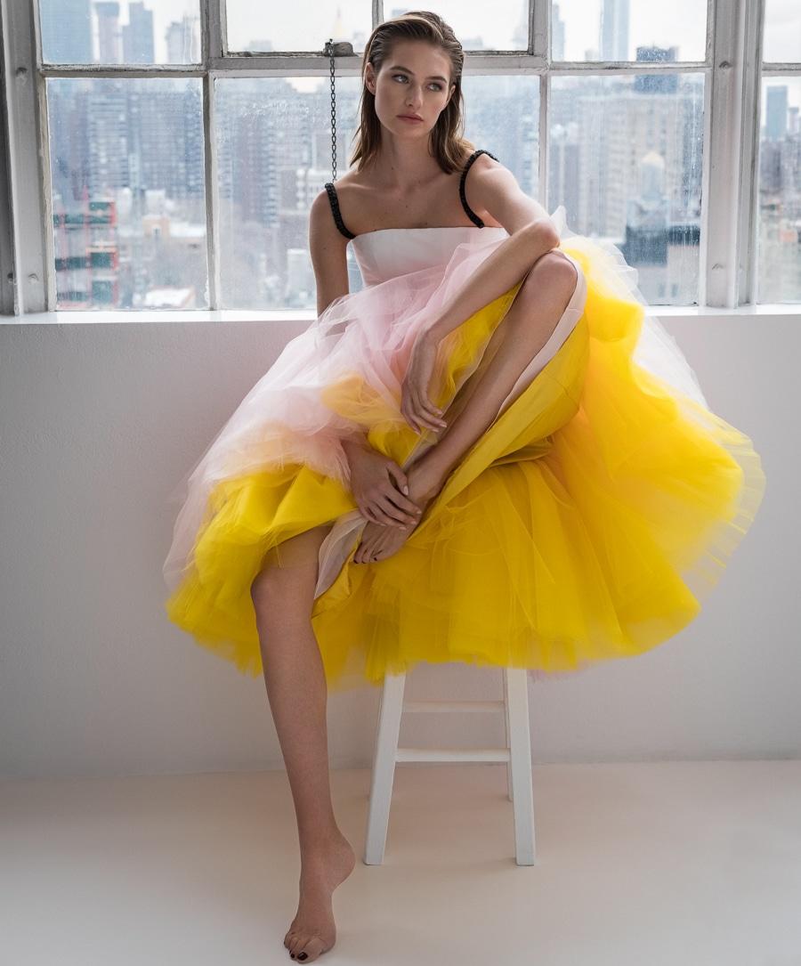 Sanne Vloet by Juankr for Harper's Bazaar Spain March 2018