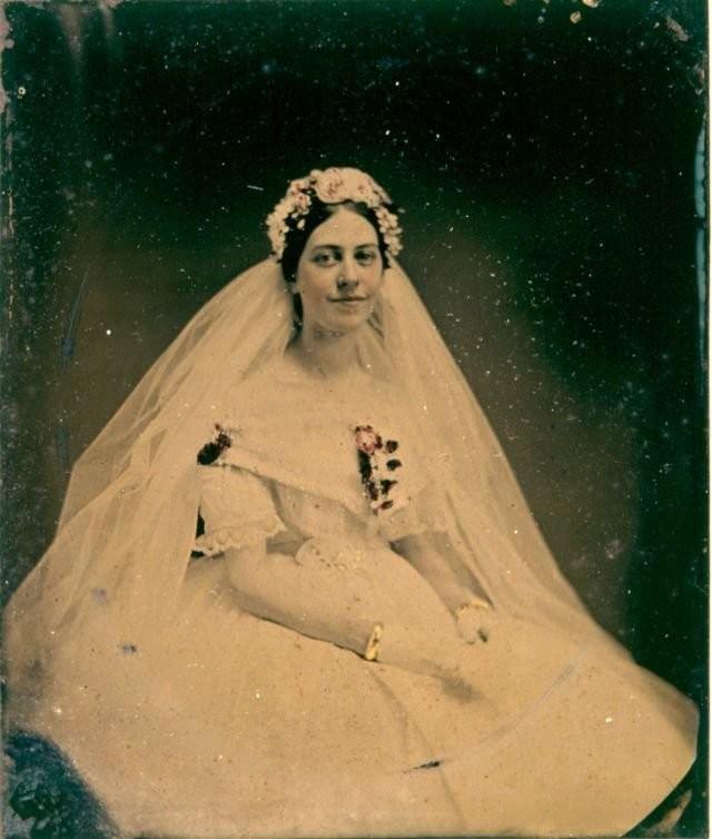 0 184501 ee0677bf orig - Свадебные фотографии позапрошлого века