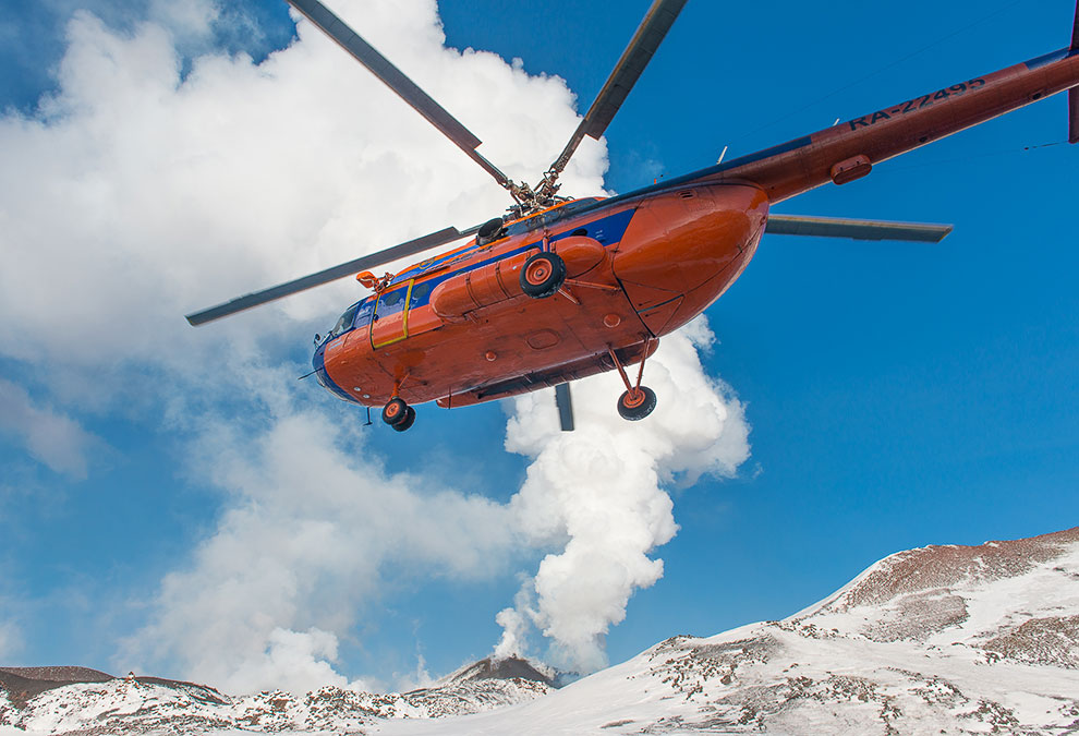 HD вулканы вулкан Камчатка действия массив группы
