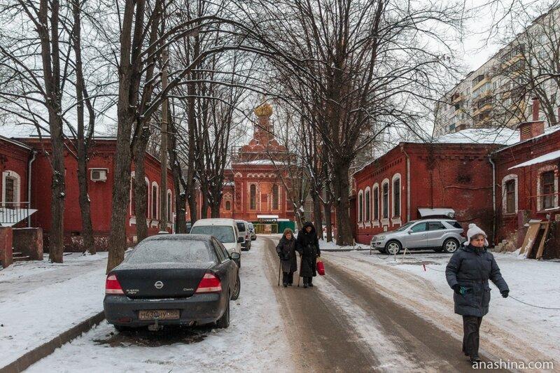 Бывший Бахрушинский приют, Москва