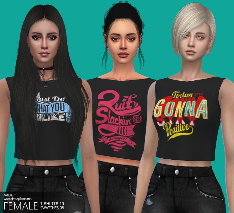TATIUS. Female T-Shirts-10
