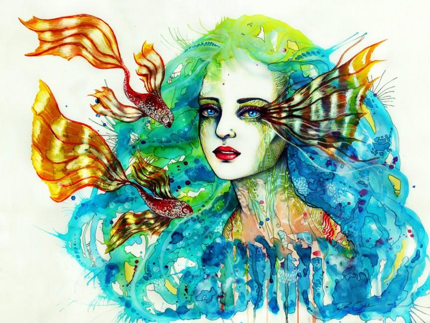 Insanely Colorful Illustrations by Svenja Jodicke