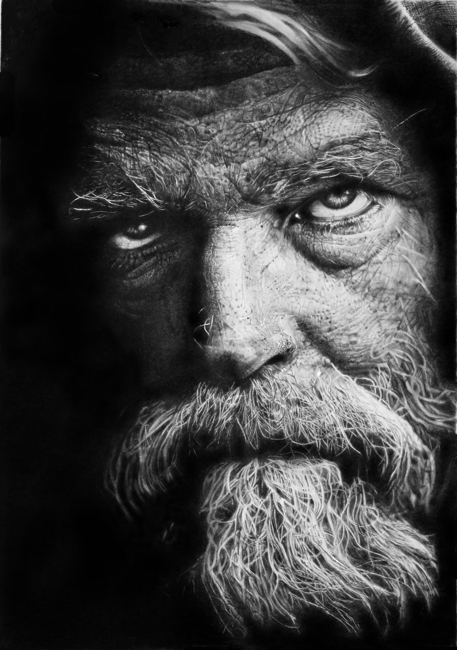 Hyperrealistic Pencil Drawings - Franco Clun