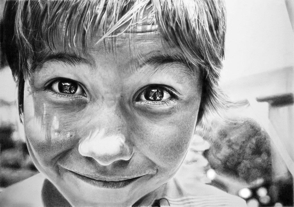 Hyperrealistic Pencil Drawings - Franco Clun