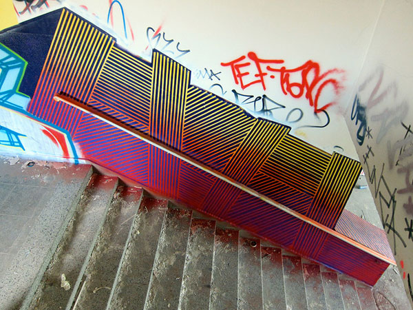 Tape Street Art – BUFFdiss (15 pics)