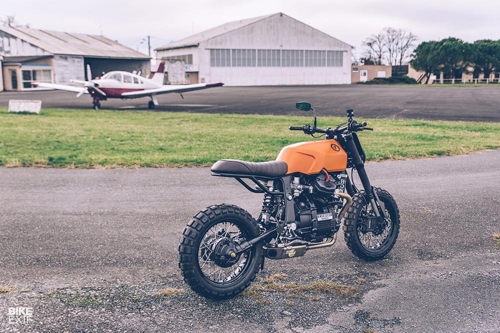 Freeride Motos: скрэмблер Honda CX650