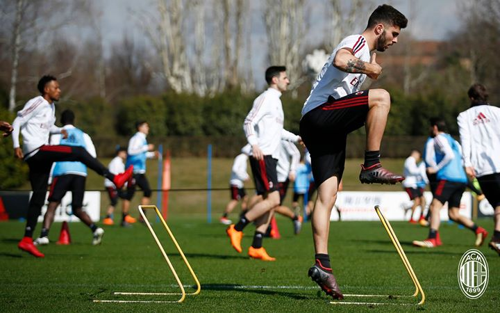Training Session, 13th March