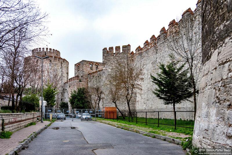 Стамбул. Семибашенная крепость (Крепость Едикуле)