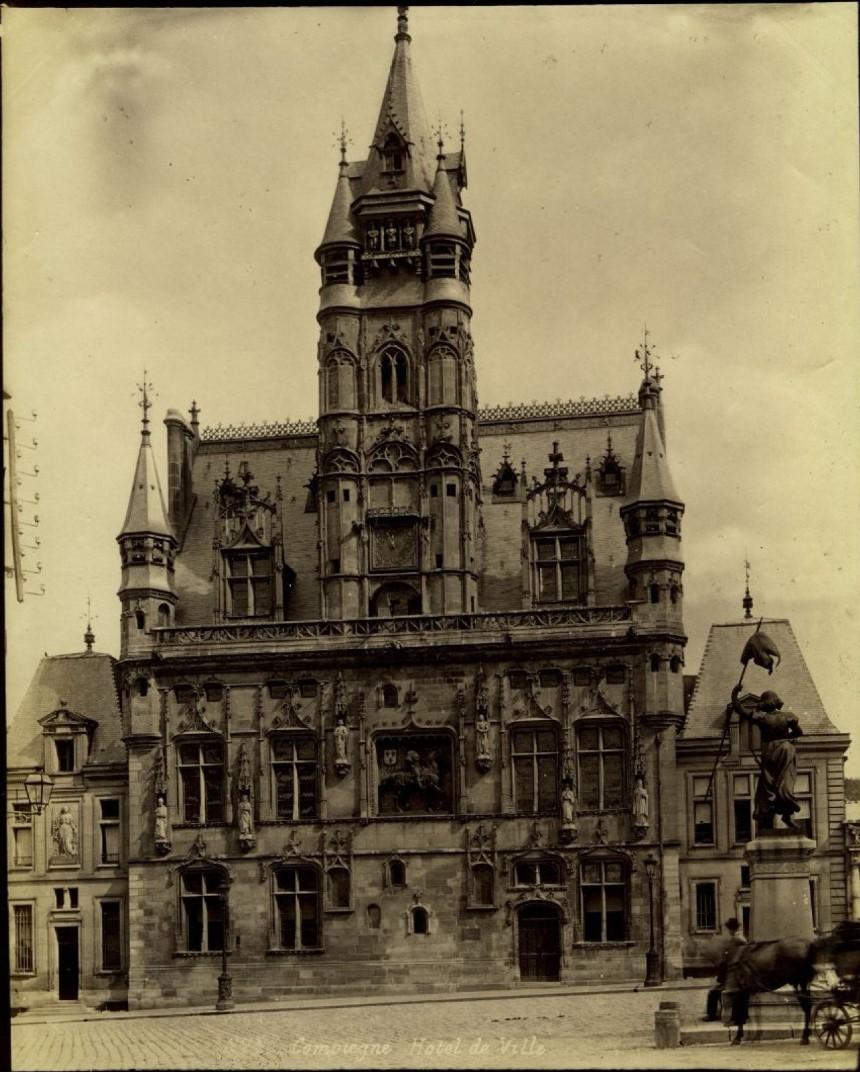 1860-е. Компьен. Мэрия