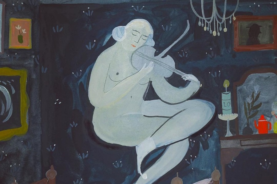 Ночные призраки Эсме Шапиро и ее «нарисованные мечты»