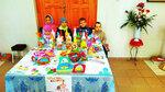 Выставка детских работ кружка при Воскресной школе Свято-Христорождественского храма. 14 апреля 2018