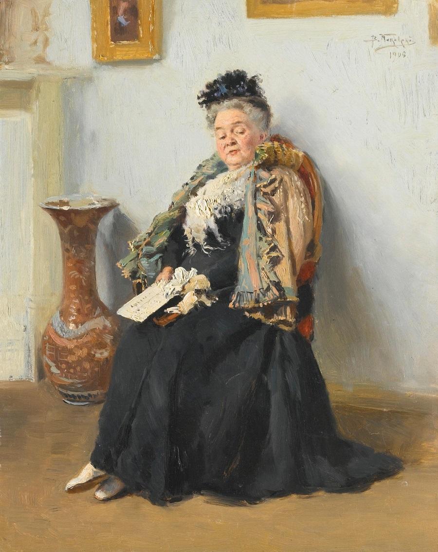 PORTRAIT OF A NOBLEWOMAN, 1906.