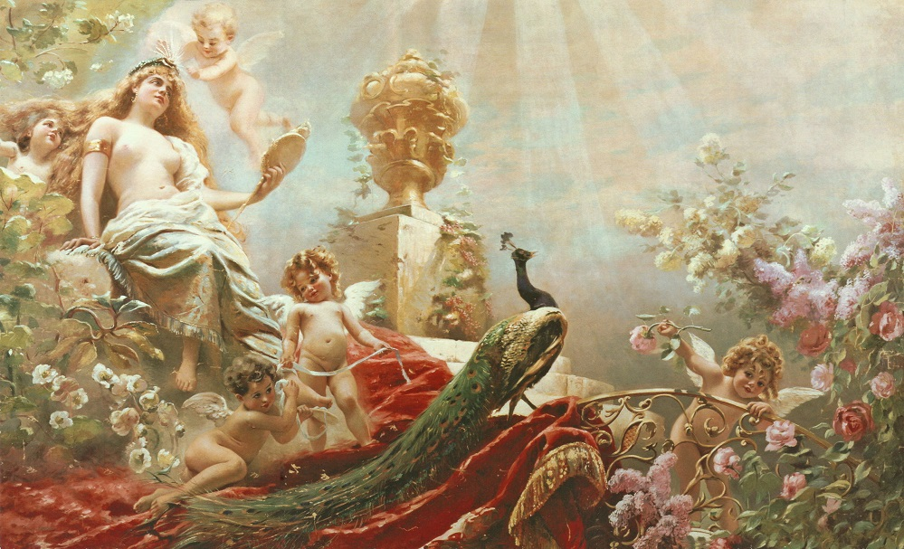 RUSSIAN, 1839-1915 THE TOILET OF VENUS.