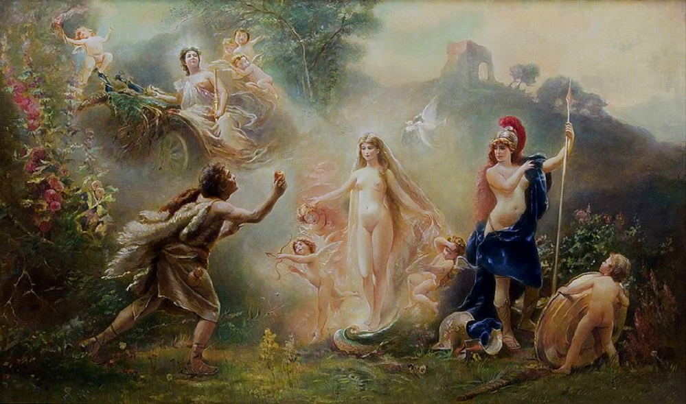 Суд Париса. 'RUSSIAN, 1839-1915 THE JUDGMENT OF PARIS'