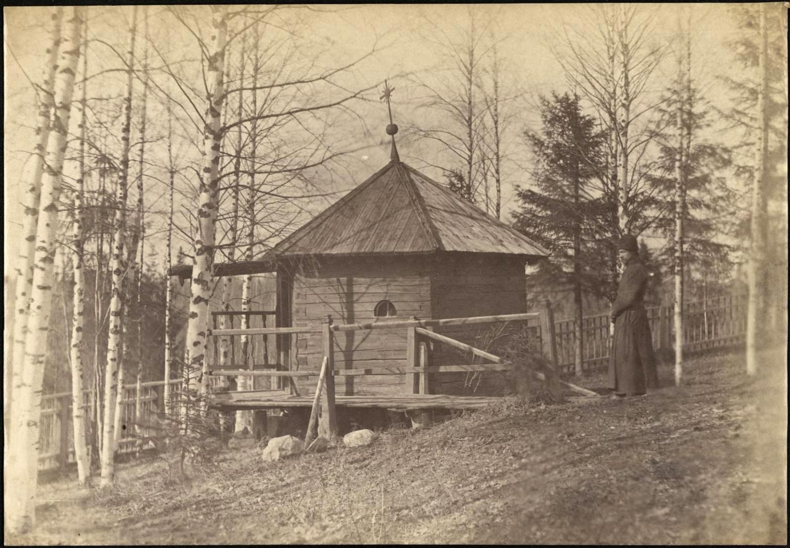 Деревянная часовня в Котовалове