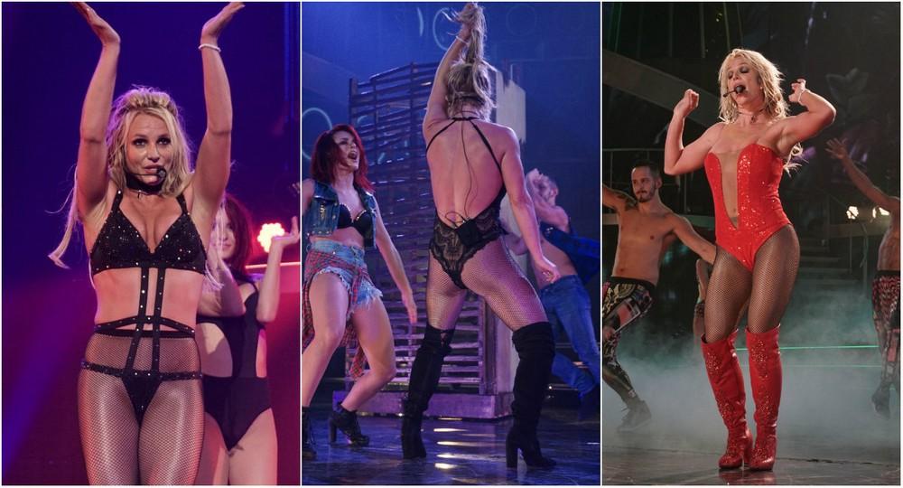 Britney Spears at Vegas Concert