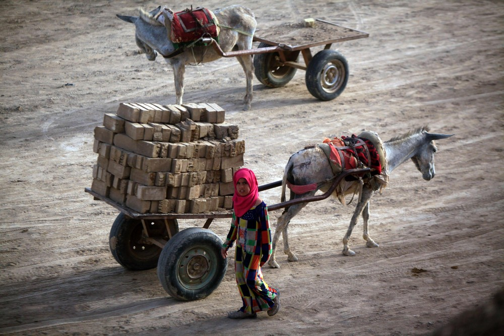 Производство кирпича в Ираке