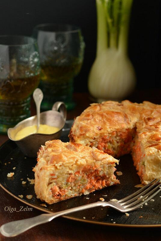 Пирог с камчатской неркой