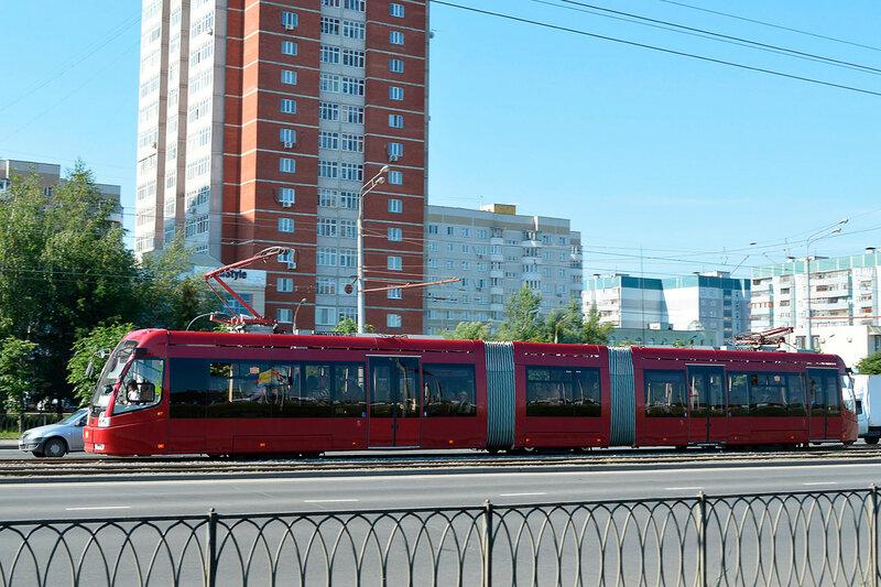 Трамвай в Казани
