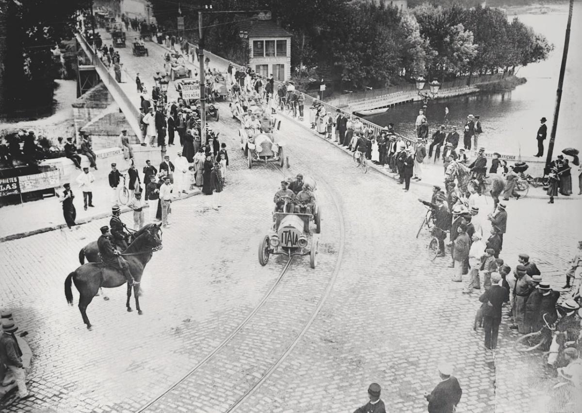 Как первый автопробег прошел по территории Вятской губернии
