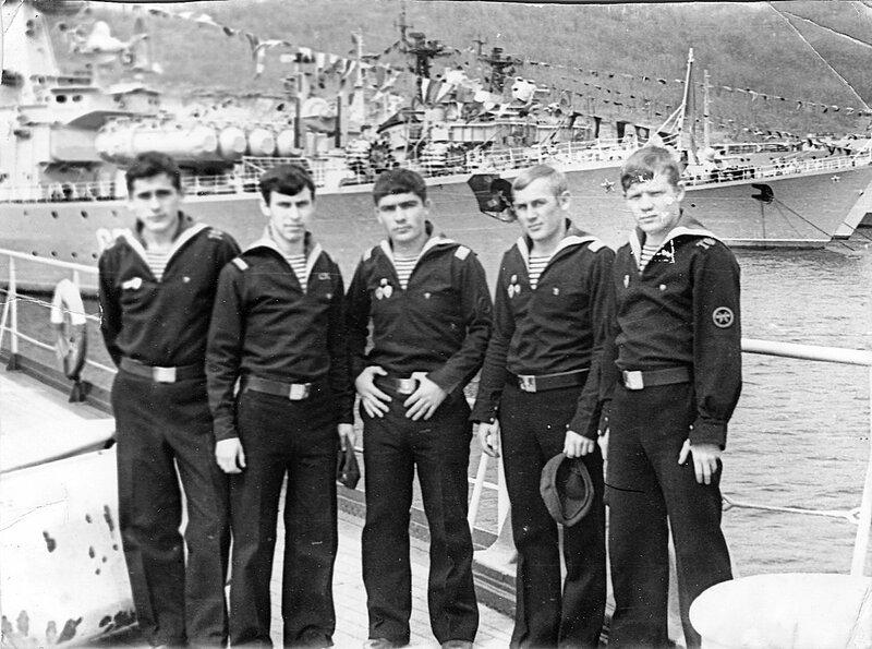 Краснознаменный Тихоокеанский Флот 1972-1975.