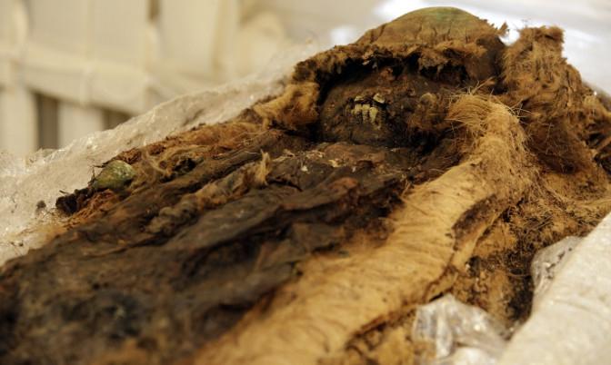 Русские ученые разработали 3D-модель мумии жившего в13-м веке ребенка